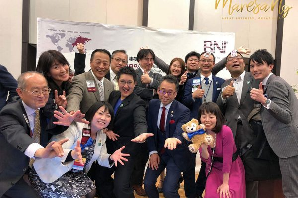Smiling faces taken with BNI Members after the completion of the event on 19th February 2018